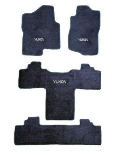 2000-2019 GMC Yukon-Denali Carpet Floor Mats Choose Color /& Official Logo