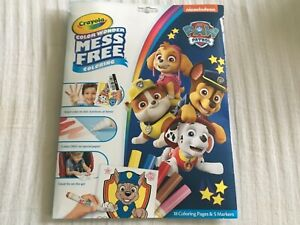 Details about Paw patrol Crayola Color Wonder, color Explosion, and Sticker  and Coloring Books