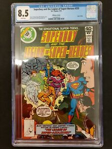 Superboy-amp-The-Legion-Of-Super-Heroes-253-Whitman-Variant-CGC-Universal-8-5
