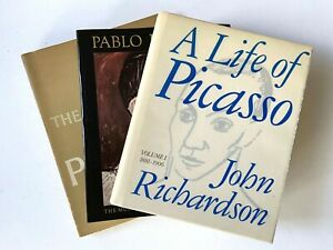 3 PICASSO Books 1967 The Sculpture of, 1980 A Retrospective and 1991 A Life of