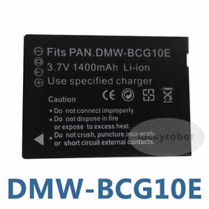dmw bcg10 battery for panasonic lumix dmc zs15 dmc zs19 dmc zs20 rh ebay com Panasonic Lumix Dmc- Zs40 Panasonic Lumix DMC ZS20 Coppying Pictures to Card