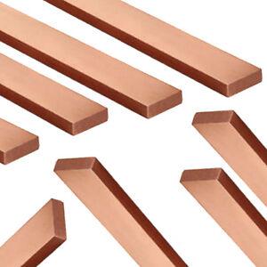 Copper-FLAT-BAR-Copper-Strip-Diameter-amp-Length-Copper-Bar-C101-Pure-Copper-99-9