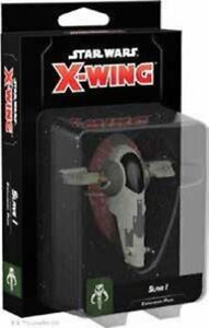 Slave-I-2nd-Edition-Expansion-Star-Wars-X-Wing-Miniatures-Game-FFG-SWZ16-1-One