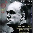 Ludwig van Beethoven - Richter Archives, Vol. 22 (2013)