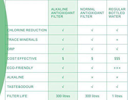 EHM ULTRA ALKALINE WATER PITCHER /& Ioniseur 3.5 L Pure saine PLUS Pack de 3 filtres