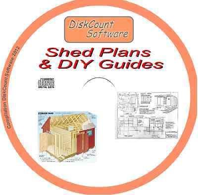 Plans for Sheds Greenhouses Garden Furniture Decking 1Over 180 DIY BOOKS on CD