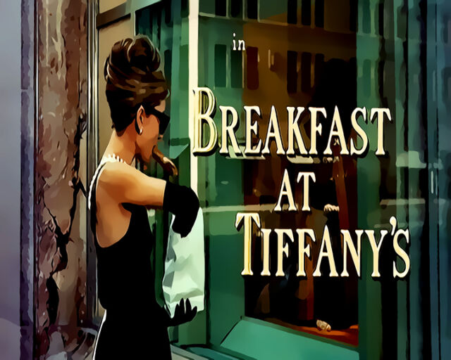Audrey Hepburn Breakfast At Tiffanys #12 Pop Art Canvas 16 x 20
