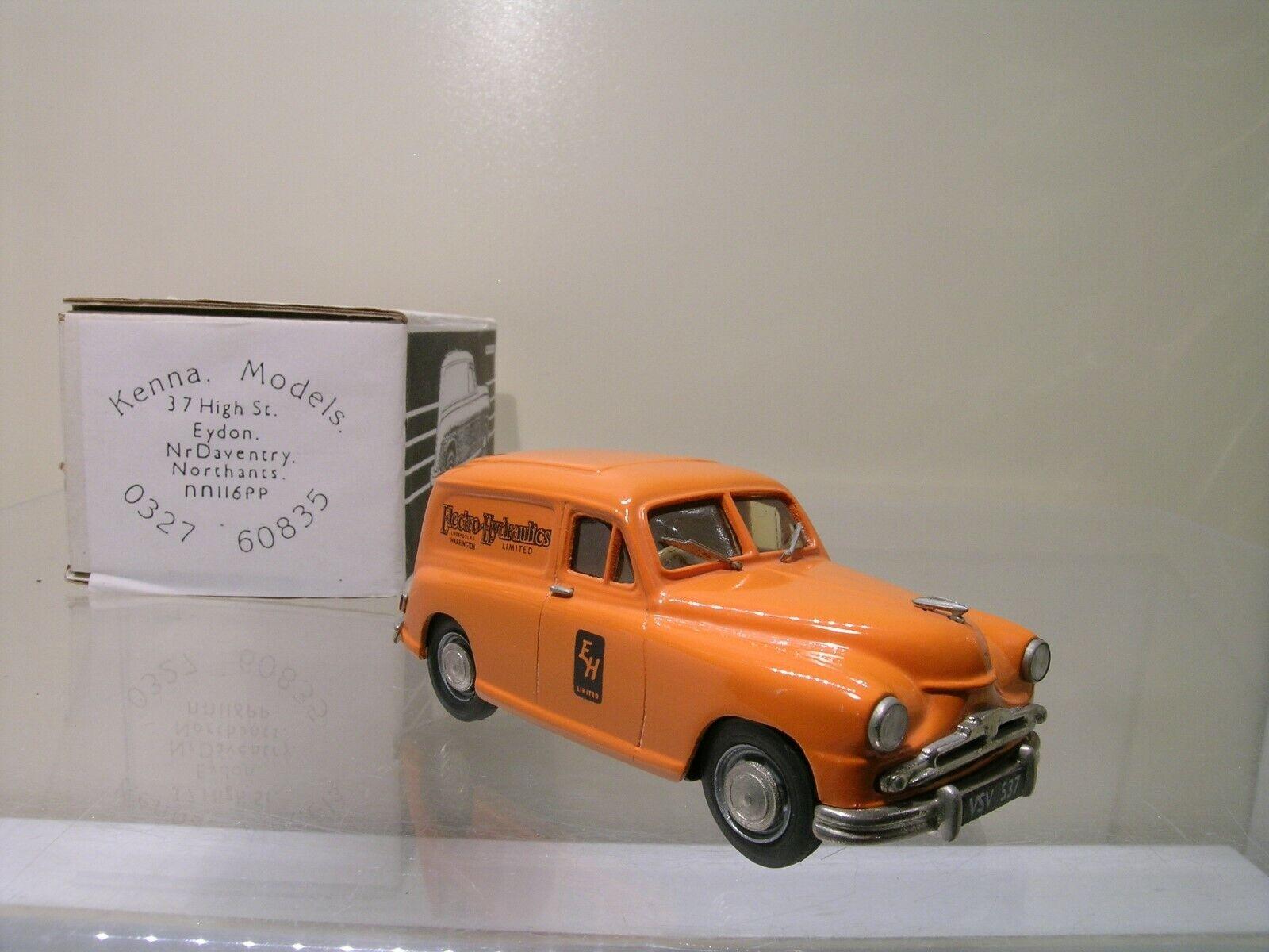 KENNA MODELS STANDARD VANGUARD VAN PHASE 2 ELECTRO HYDR.12 150 orange 1953 1 43