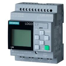 6ED1052-1MD08-0BA0 Siemens LOGO! 12/24RC,PLC ,12/24V DC/RELAY, 8 DI (4AI)/4 DO