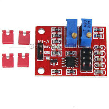 5PCS LM358 Adjustable Square Wave Module PulseUpgrade Frequency Duty Cycle M125