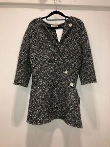 Celine-Womens-Grey-Jacket-Size-40-95-1747-A