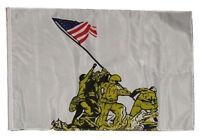 12x18 12x18 Battle Of Iwo Jima Sleeve Flag Garden