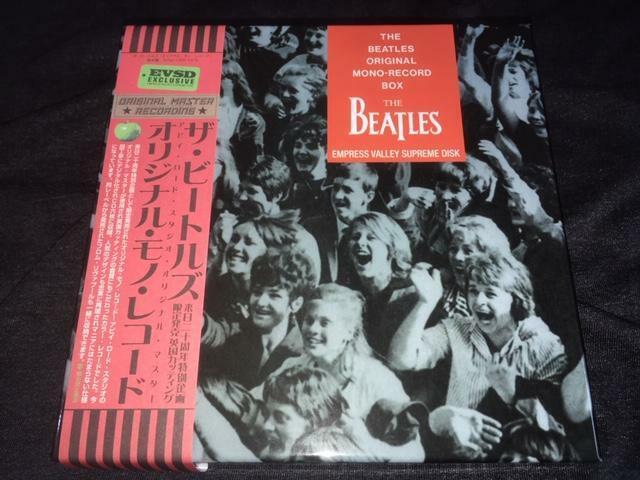 BEATLES ORIGINAL MONO RECORD BOX NEW 6 CDs Empress Valley Supreme Box