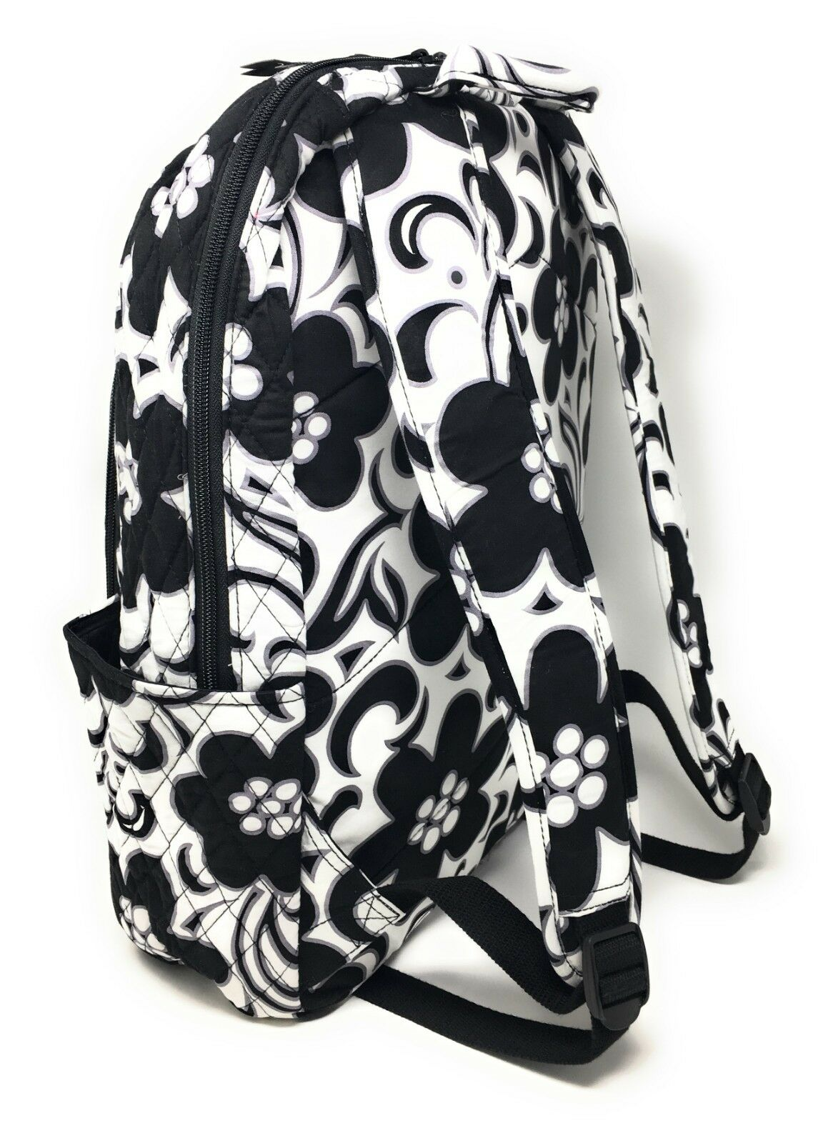 3c51f1808ba2 Vera Bradley Campus Backpack School Book Bag Laptop Night and Day Tote for  sale online