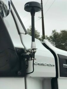 Details about Antenna mount for Freightliner Cascadia 2018 2019 mirror  mount CB TV, radio XM