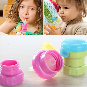 Children-Portable-Spill-Proof-Juice-Soda-Water-Bottle-Twist-Cover-Cap-With-straw