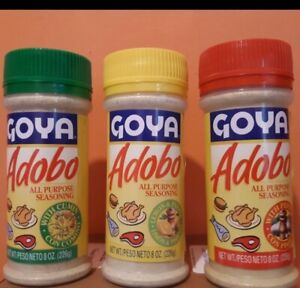 Goya Adobo All Purpose Seasoning 3 Pack Ebay