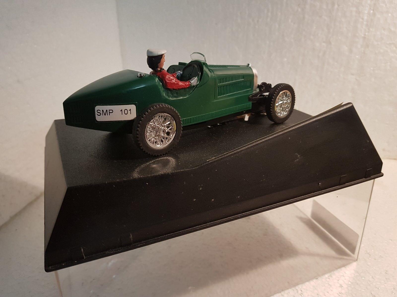 QQ SMP OLDTIMER bugatti Typ 35 Grün limitierte Edtion Edtion Edtion 1000 units CARRERA 92ca89
