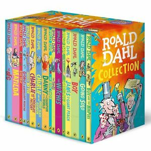 Roald-Dahl-Classic-Collection-Witches-BFG-Matilda-George-Marve-16-Book-Box-Set