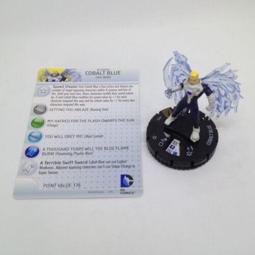 Heroclix The Flash set Cobalt Blue #055 Super Rare figure w/card!