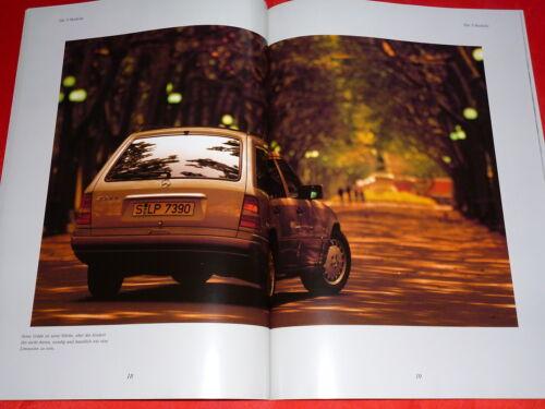 MERCEDES S124 E-Klasse T-Modelle E 200 E 320 Prospekt Brochure Depliant 1995