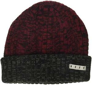 debb0e37cce Image is loading NEFF-Unisex-Adult-039-s-Impervious-Beanie-Maroon-