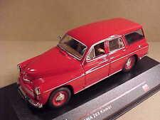 iST Models 1/43 Diecast 1960 Warszawa 203 Kombi (Station Wagon) Red  #IST 081