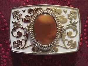 Belt-Buckle-Western-Style-Nice-Stone