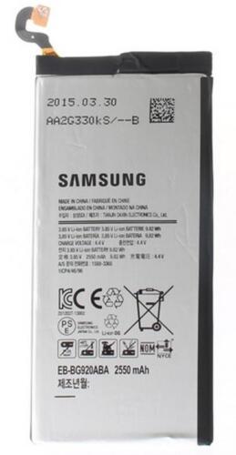 Nuevo OEM original Batería original Samsung EB-BG920ABA para Galaxy S6 SM-G920