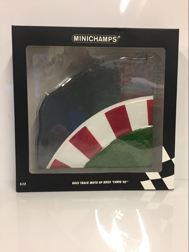 Minichamps 312200010 1:12 scala resina PISTA MOTOGP CURVA 90 gradi