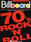 Billboard Top Rock 'n' Roll Hits of the 70's by Hal Leonard Corporation(Paperback / softback)