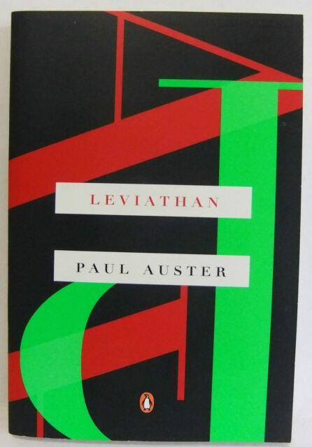 Leviathan by Paul Auster Mystery Fiction Novel Paperback A Notable Book