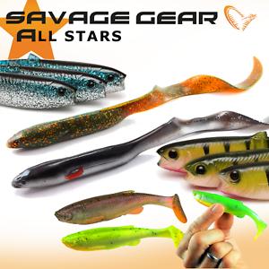 Savage Gear Fat T Tail Minnows Soft Plastic Loose Bodies