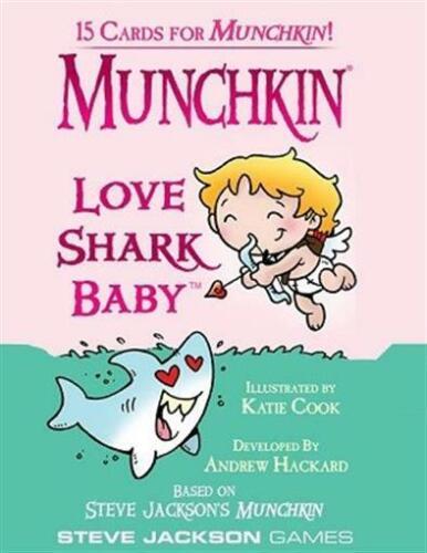 Love Shark Baby Booster Pack by Steve Jackson Games SJG4247-S Munchkin