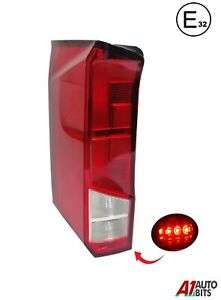 VW-Crafter-Rear-Light-2017-On-Back-Tail-Lamp-Lens-Lh-Left-N-S-Side-E-32-Mark