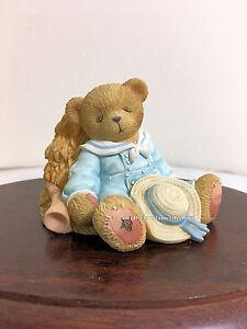 Cherished Teddies Little Boy Blue - Once Upon A Teddy  NIB  SIGNED
