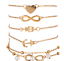 5Pcs-Set-Charm-Pearl-Ankle-Bracelet-Women-Anklet-Chain-Foot-Summer-Beach-Jewely thumbnail 7
