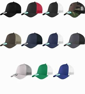 Details about New Era 9Forty Trucker Snapback Mesh Back Hat   Cap NE205  BLANK 11 colors NEW!!! 5bdbe0b302d