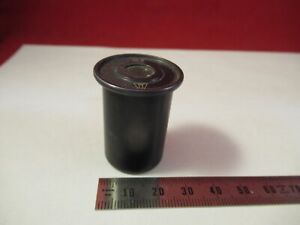 VICKERS-ENGLAND-UK-EYEPIECE-10X-OCULAR-OPTICS-MICROSCOPE-PART-AS-PICTURED-amp-13-86