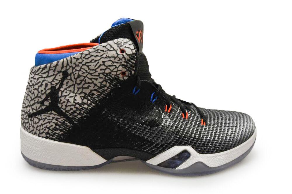 Homme Nike Air Jordan XXXI Pourquoi Pas?  RARE  - AA9794003-Gris Bleu Orange Baskets-