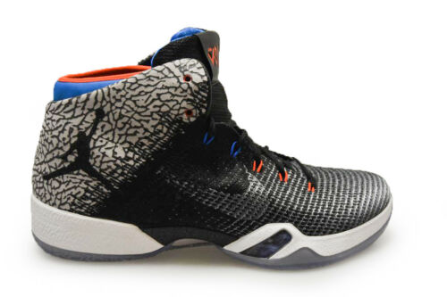 Uomo Nike Air Jordan XXXI Why non rari AA9794003 Grigio Azzurro Arancione