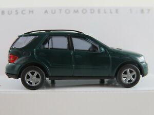 Busch-49810-MERCEDES-BENZ-CLASSE-M-2005-2008-in-verde-1-87-h0-Nuovo-Scatola-Originale