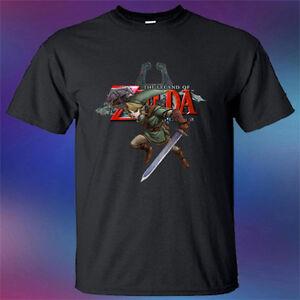 Legend Of Zelda Tee Apparel Full Print Tshirt New Men/'s T-Shirt S to 3XL