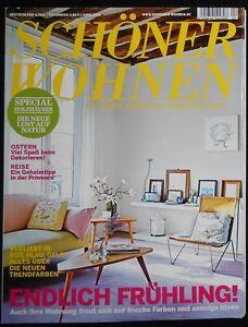Schoner Wohnen Magazin April 2010 Ebay