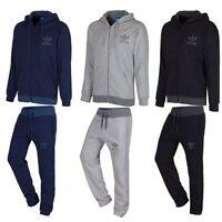 Adidas Originals Spo Full Tracksuit Navy Grey Black S M L Xl Jogger Fleece