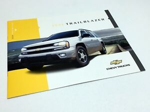 Details about 2004 Chevrolet Trailblazer Brochure