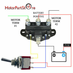 image is loading relay-winch-motor-reversing-solenoid-switch-12-volt