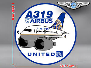 UNITED-AIRLINES-UAL-PUDGY-AIRBUS-A319-A-319-DECAL-STICKER