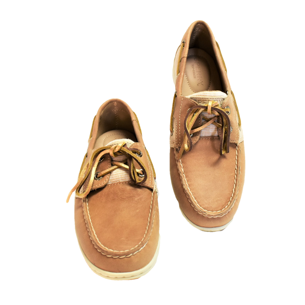 New Sperry koifish Gloss  Linen donna 7 37.5 Scarpe in barca  negozio online