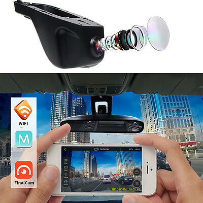Novatek 96655 HD 1080P/30fps SONY IMX322 WiFi Car Dash Camera Motion Detection